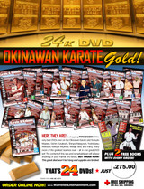 Okinawan Karate  Box Set ( 24 DVDs Series )