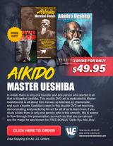 Aikido Master Ueshiba Special Box Set ( 2 DVDs + Free Book )