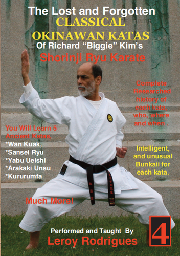 Lost and Forgotten Katas of Richard Biggie Kim's Shoring Ryu Karate #4