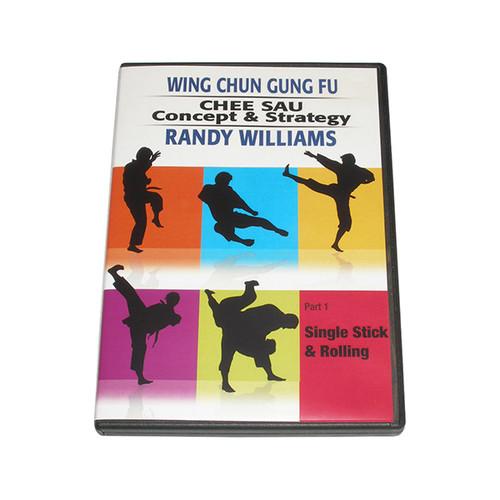 Wing Chun Gung-Fu Chee Sau Concepts & Strategies Part 1: Single Stick & Rolling