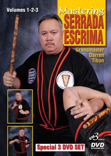 MASTERING SERRADA ESCRIMA  3 DVD SET (Vol-1, 2 & 3)