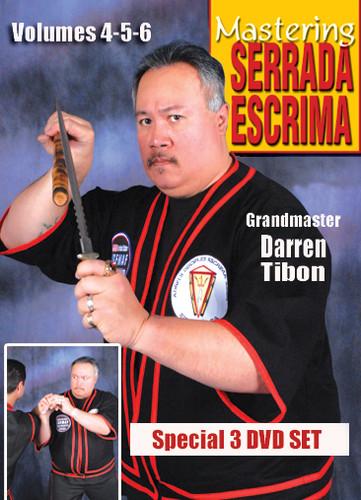 MASTERING SERRADA ESCRIMA  3 DVD SET (Vol-4, 5 & 6)
