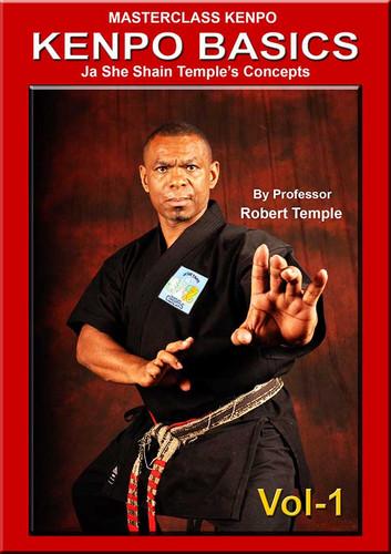 MASTERCLASS KENPO KENPO BASICS Vol-1 Ja She Shain Temple's Concepts