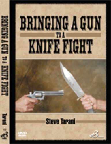 BRINGING A GUN TO A KNIFE FIGHT