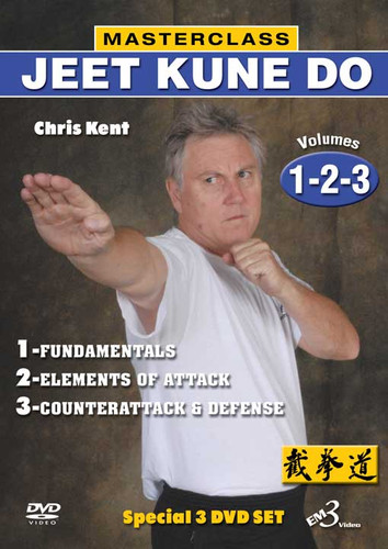 MASTERCLASS JEET KUNE DO DVD Set Vols.1-2-3