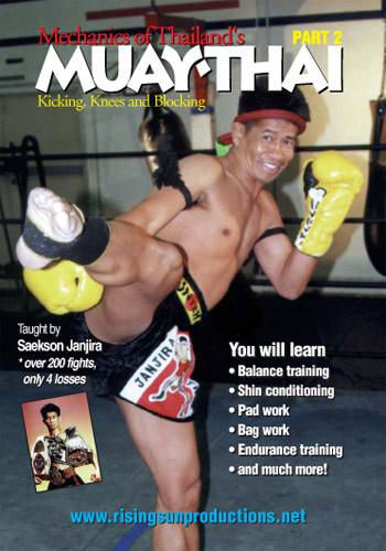 Muay Thai Mechanics of Kicking knees and blocking (DVD download)