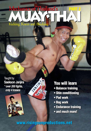 Muay Thai Mechanics of Kicking Knees and Blocking  Part #2 ( Download )
