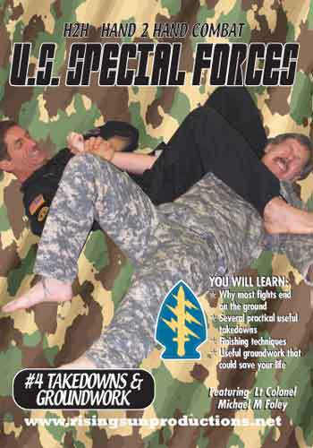 US Special Forces H2H Takedowns Locks Armbars(DVD Download)