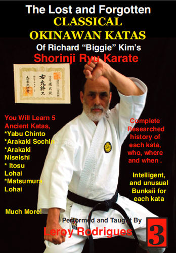 Lost and Forgotten Katas of Richard Biggie Kim's Shoring Ryu Karate #3 ( Download )