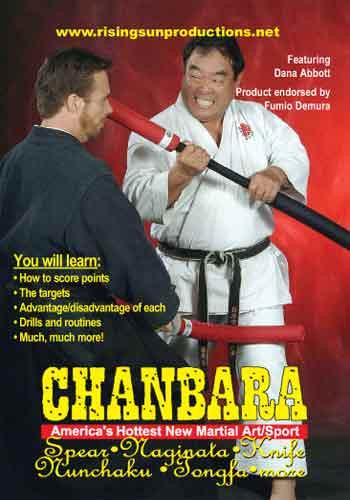 Chanbara Spear, Knife, Naginata & Bo