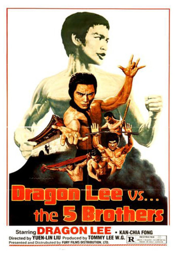 Dragon Lee vs The Five Brothers