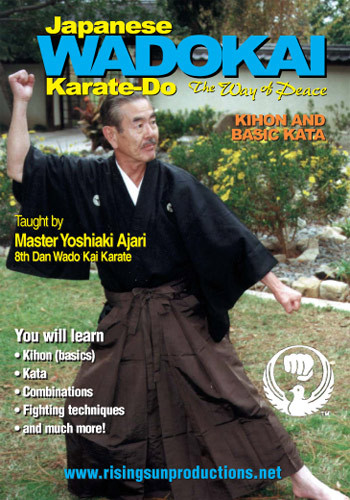 Wado Ryu Karate – Master Ajari Box Set ( 3 DVDs )