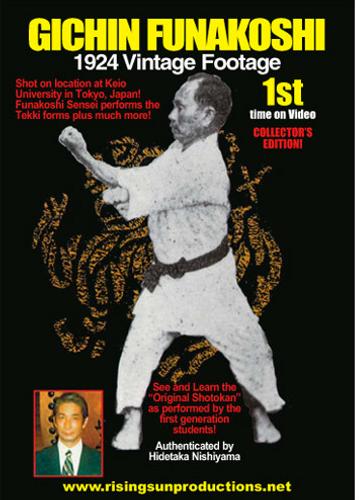Gichin Funakoshi 1924 Vintage Footage                                    (Download)