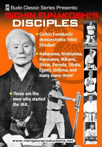 Gichin Funakoshi Disciples ( Download )