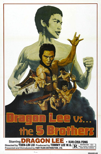 Dragon Lee vs The Five Brothers ( Download )