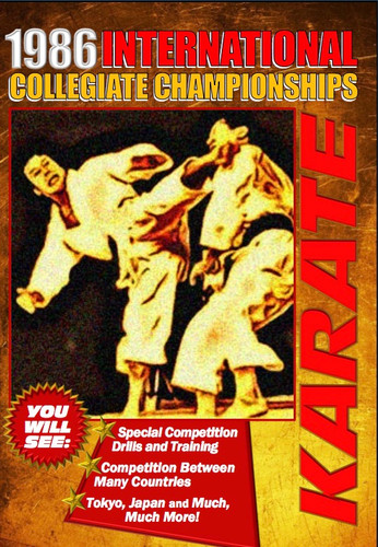 1986 International Collegiate Championships Karate