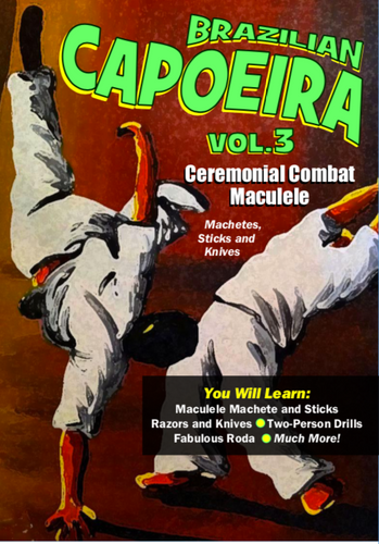 CAPOEIRA - Ceremonial Combat Maculele (Machete) and Sticks.