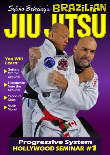Sylvio Behring Brazilian Jiu Jitsu Progressive System Hollywood Seminar #1 ( Download )