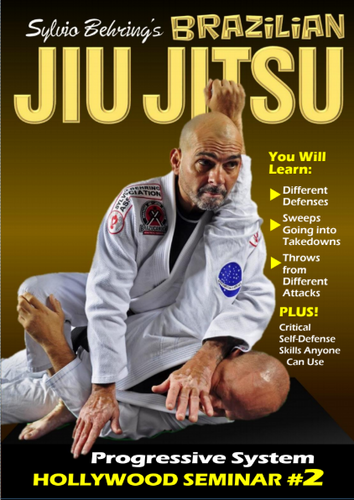 Sylvio Behring Brazilian Jiu Jitsu Progressive System  Hollywood Seminar #2 (Download)