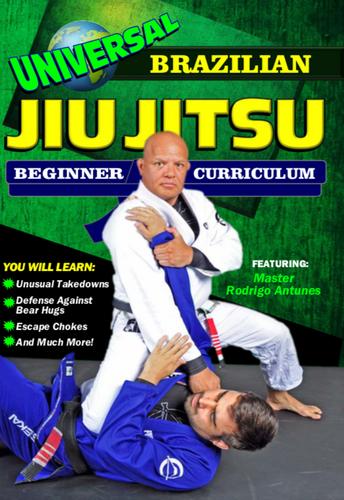 Universal Brazilian Jiu Jitsu Beginners Curriculum ( Download )