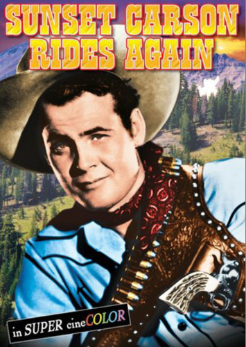 Sunset Carson Rides Again (download)