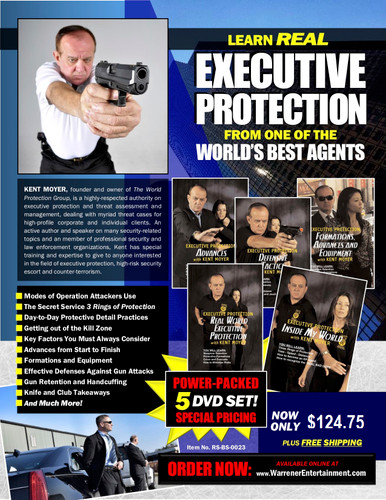 Executive Protection Box Set ( 5 DVDs )
