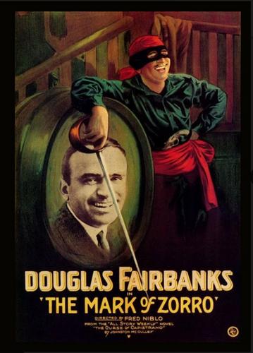 The Mark Of Zorro  ( Silent ) - ( Download )