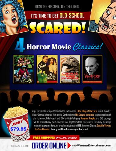Horror Classics Box Set ( 4 DVDs )