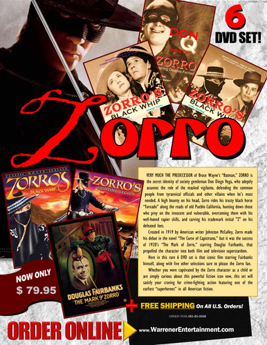 Zorro Box Set ( 6 DVDs )