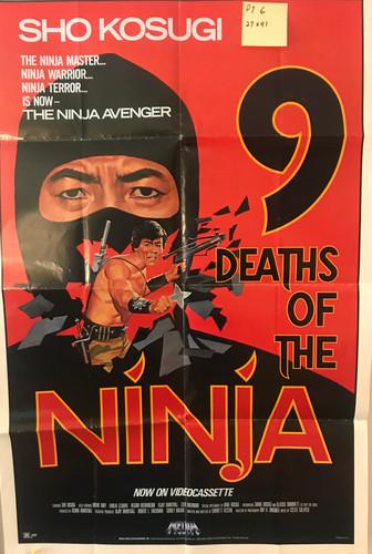 9 Deaths Of a Ninja