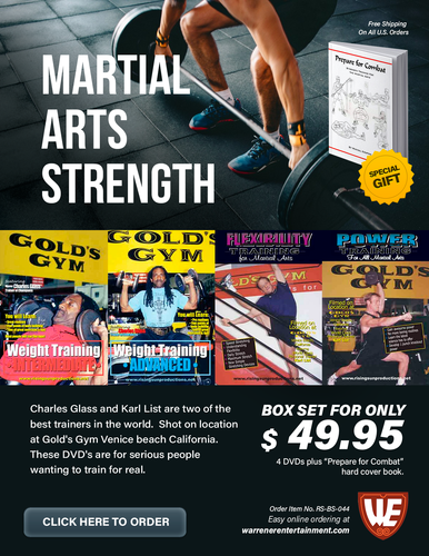 Martial Arts Strenght Special Box Set ( 4 DVDs plus Free Book )