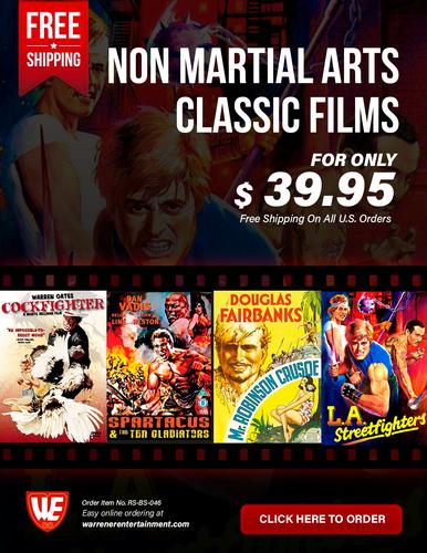 Non Martial Arts Classic Films Box Set ( 4 DVDs )