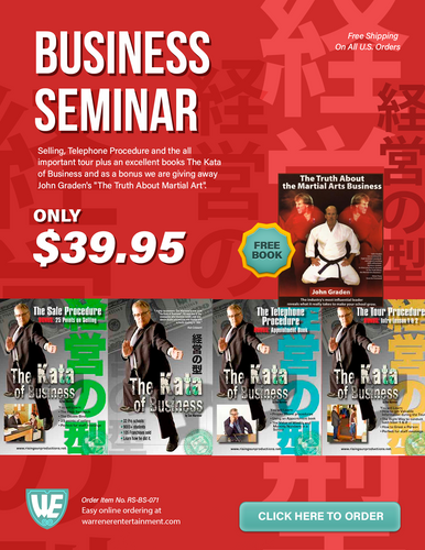 Business Seminar Special Box Set  ( 4 DVDs + Free Book )