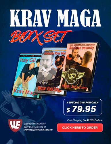 Krav Maga Box Set ( 3 DVDs )