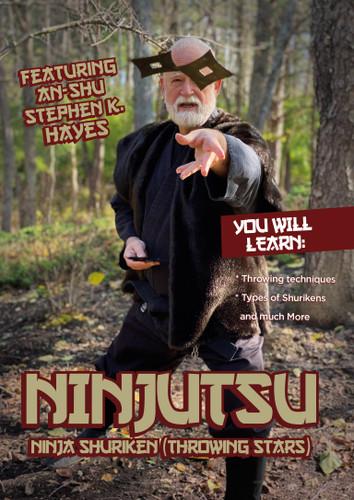 Ninjutsu Ninja Shuriken ( Throwing Stars ) - Stephen Hayes