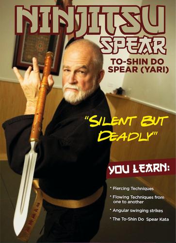 Ninjitsu Spear Stephen Hayes dL-AVAILABLE DECEMBER 1st 2020