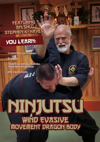 Ninjutsu WIND Evasive Movement Dragon Body - Stephen Hayes ( Download )