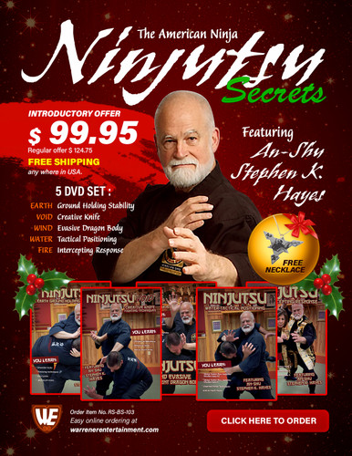 Ninjitsu Secrets Empty Hand Stephen Hayes Holiday Box Set ( 5 DVDs )