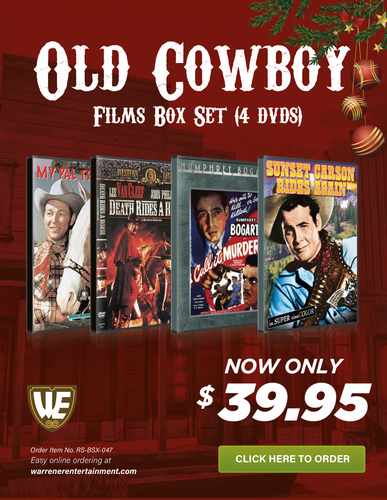 Old Cowboy Films Holiday Box Set