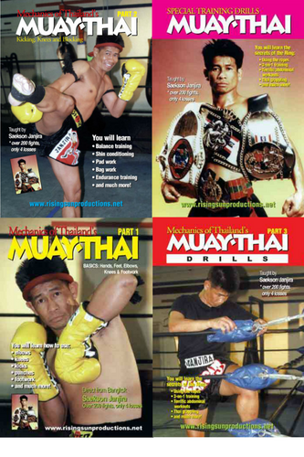 Muay Thai Master Janjira  Box Set   (4  DVDs) -  ( Download )