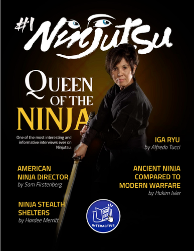 Ninjutsu Magazine #1 Print Copy