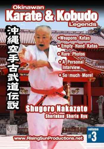 OKKL Shuguro Nakazato Shorin Kan Shorin Ryu Vol. 3