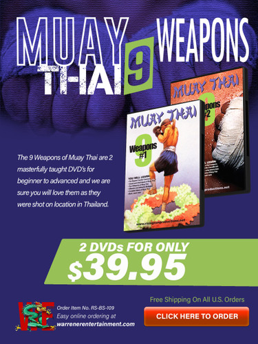 Muay Thai 9 Weapons Box Set ( 2 DVDs )