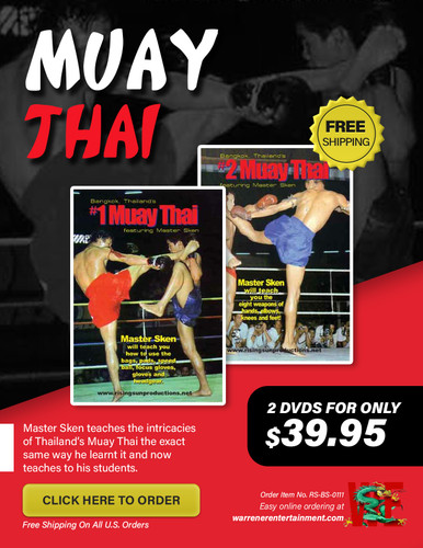 Muay Thai Box Set ( 2 DVDs )