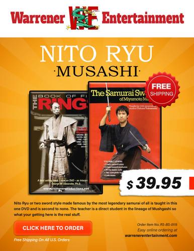 Nito Ryu Musashi   Box Set