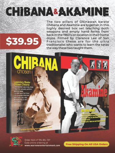 Chibana & Akamine DVD Set