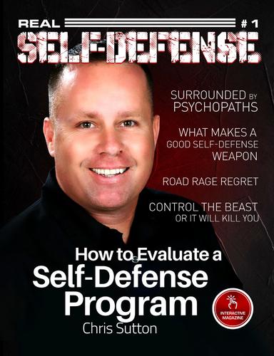 Real Self Defense Magazine #1 Print Copy