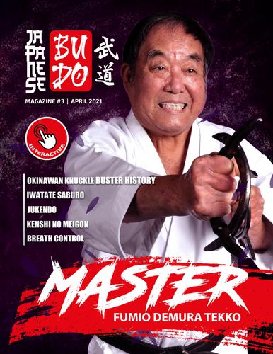 Japanese Budo Magazine Issue 3 Print Copy