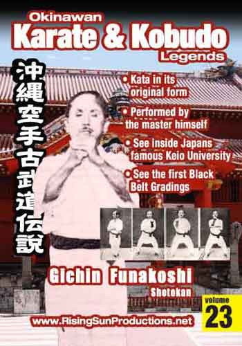 OKKL Gichin Funakoshi Shotokan Vol. 23