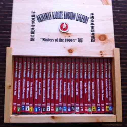 Okinawan Karate  Box Set ( 24 DVDs Series )
